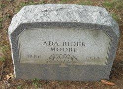 Ada <i>Rider</i> Moore
