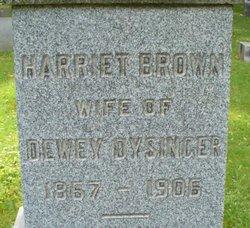 Harriet <i>Brown</i> Dysinger