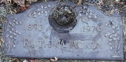 Ruth M Acken