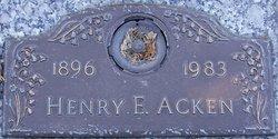 Henry E Acken