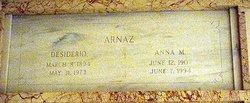 Anna M. <i>Wilson</i> Arnaz