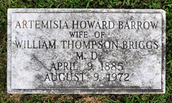 Artemisia Howard <i>Barrow</i> Briggs