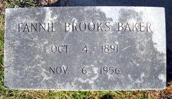 Fannie <i>Brooks</i> Baker