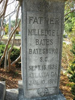 Milledge Llewellyn Bates