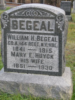 Pvt William H Begeal