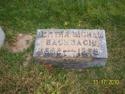 Bertha <i>Bigham</i> Baumbach