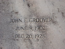 John Earnest Earnest Groover