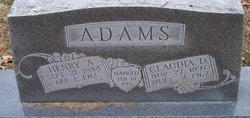 Claudia Della <i>Shipley</i> Adams