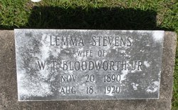 Lemma <i>Stevens</i> Bloodworth