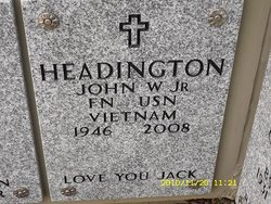 John Wesley Headington, Jr