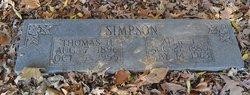 Allie Jane <i>Newton</i> Abel Simpson