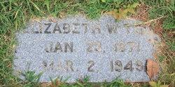 Elizabeth W Todd