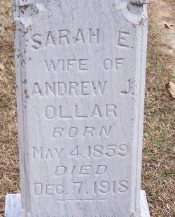 Sarah E. <i>Rice</i> Ollar