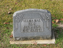 Velma Mae Rico