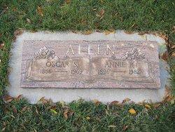 Annie Rhoda <i>Settle</i> Allen