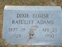 Dixie Eloise <i>Ratcliff</i> Adams
