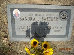 Sandra June <i>Heck</i> Baecker