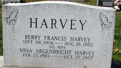 Berry (Littleberry) Francis (Toliver) Harvey
