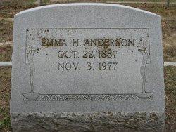Emma <i>Hudson</i> Anderson