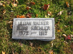Lillian Lillie <i>Walker</i> Koehler