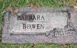 Barbara Bowen
