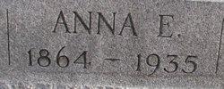 Anna E <i>Riney</i> Bickel
