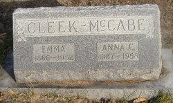 Emma Margaret <i>Clements</i> Cleek