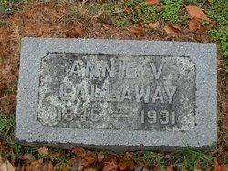 Ann E <i>Vickers</i> Callaway