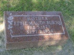 Effie Maude Maude <i>Hawkins</i> Burns