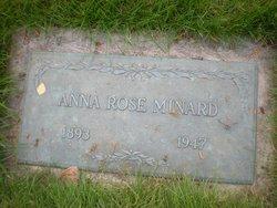 Anna Rose <i>Mitchell</i> Minard