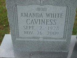 Amanda <i>White</i> Caviness