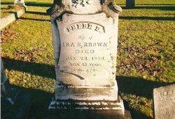 Phebe Delina <i>Worden</i> Brown