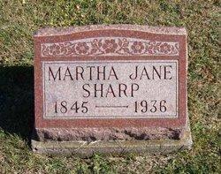 Martha Jane Sharp
