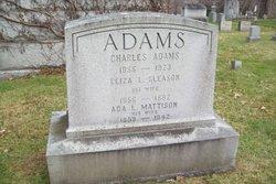 Ada L <i>Mattison</i> Adams
