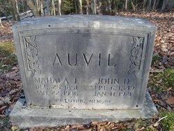 Mahala Jane <i>White</i> Auvil