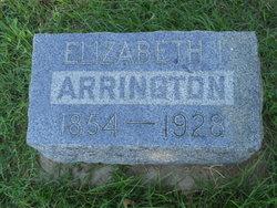 Elizabeth Jane <i>Chastain</i> Arrington