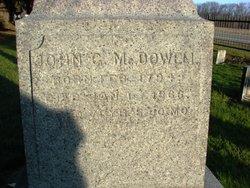 John Guy McDowell