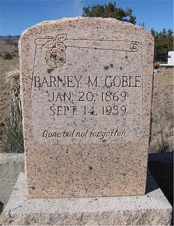 Barney Milton Goble