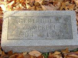 Gertrude E. Campbell