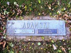 Wanda <i>Lesniewicz</i> Adamski