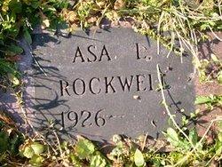 Asa L Rockwell