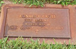 Ronald C Ronnie Cross