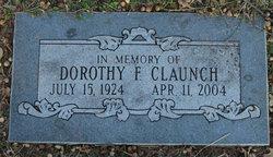 Dorothy F <i>Moore</i> Claunch