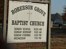 Roberson Grove Baptist Church Cemetery