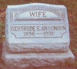 Gertrude <i>Evensen</i> Antonsen