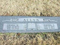 Bertha A. <i>Grant</i> Allyn