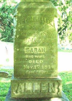 Sarah <i>Brown</i> Allen