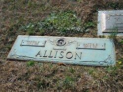 Mattie Elizabeth <i>Rogers</i> Allison