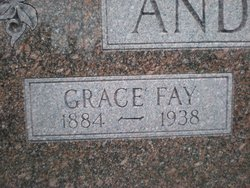 Grace Fay <i>Chaffin</i> Anderson