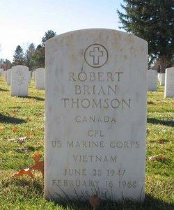 Corp Robert Brian Thomson